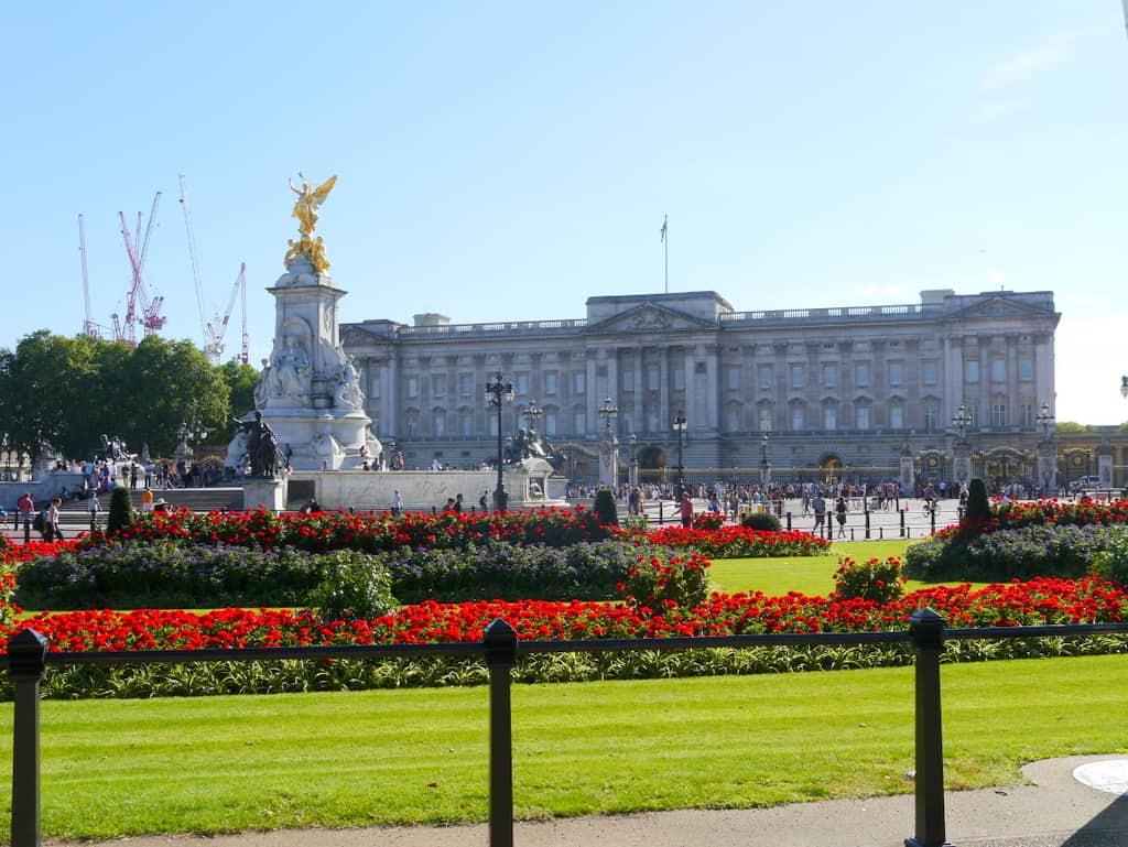 Buckingham Palace London view