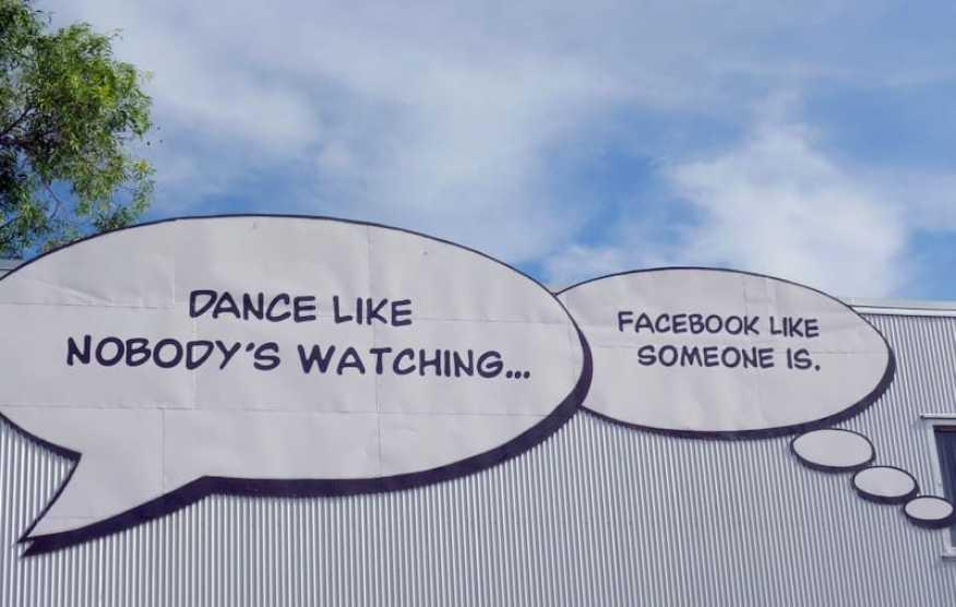 Facebook like no is watching