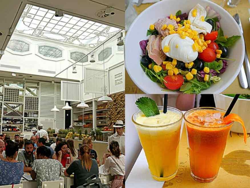 Ginger Rome restaurant