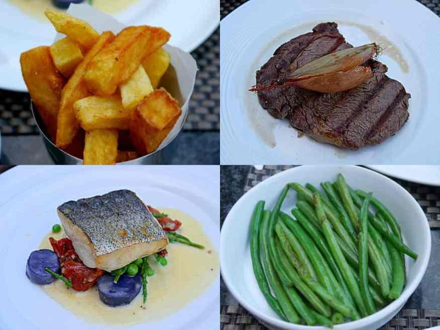 Hanbury Manor food