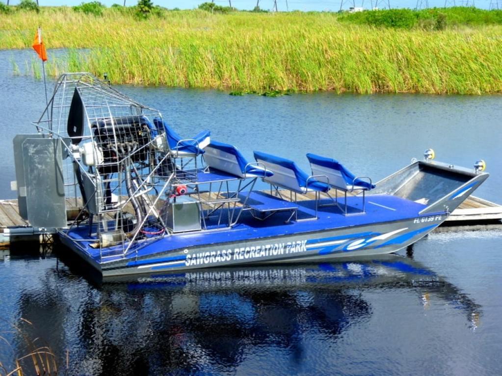 Sawgrass Everglades air boat