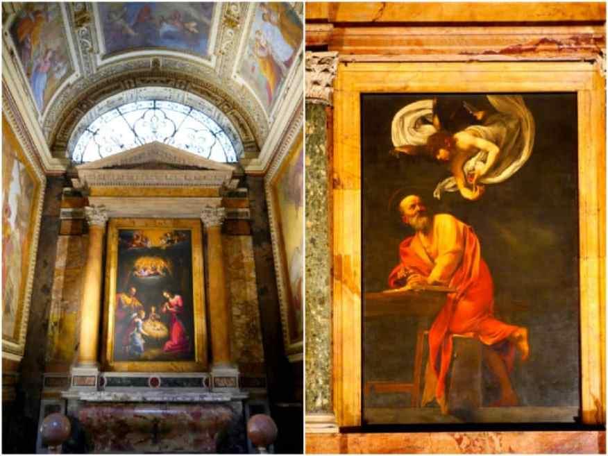 San Luigi dei Francesi Rome paintings