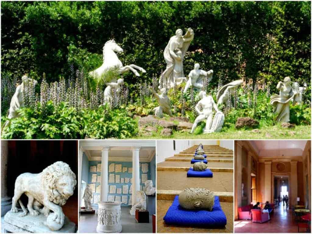 Villa Medici Garden Rome