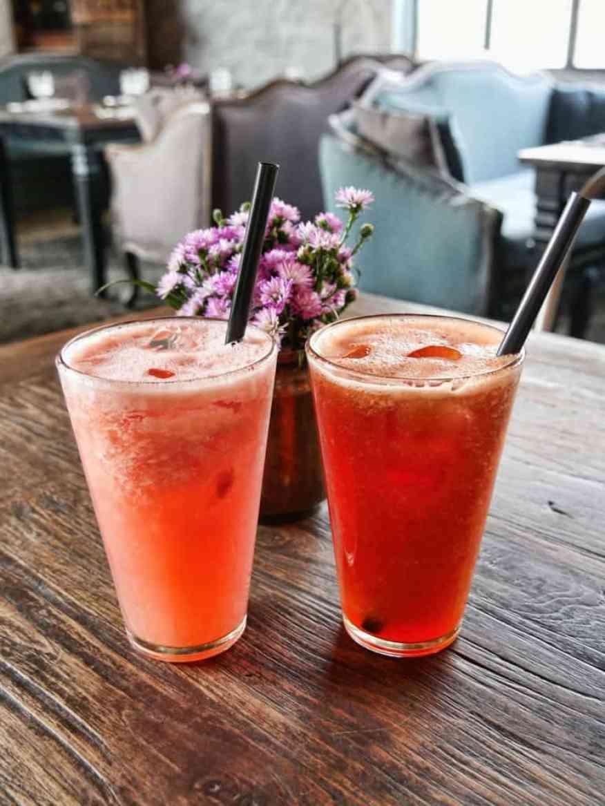 The Bistro Seminyak cocktails