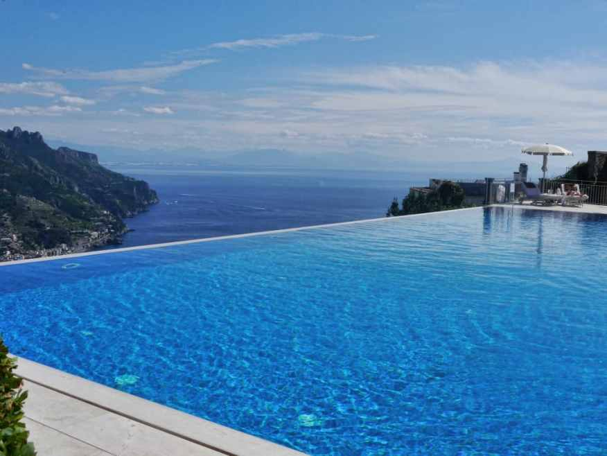 Belmond Caruso infinity pool