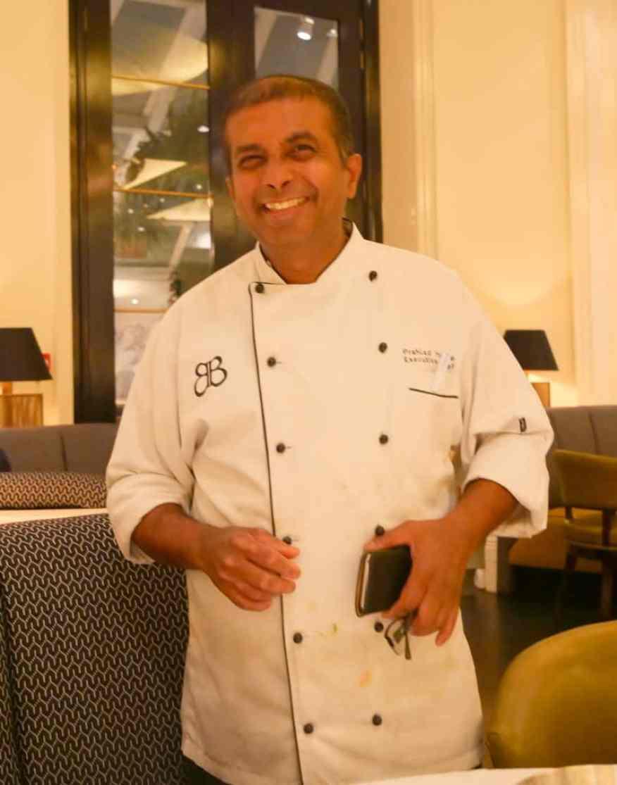 Bombay Brasserie chef