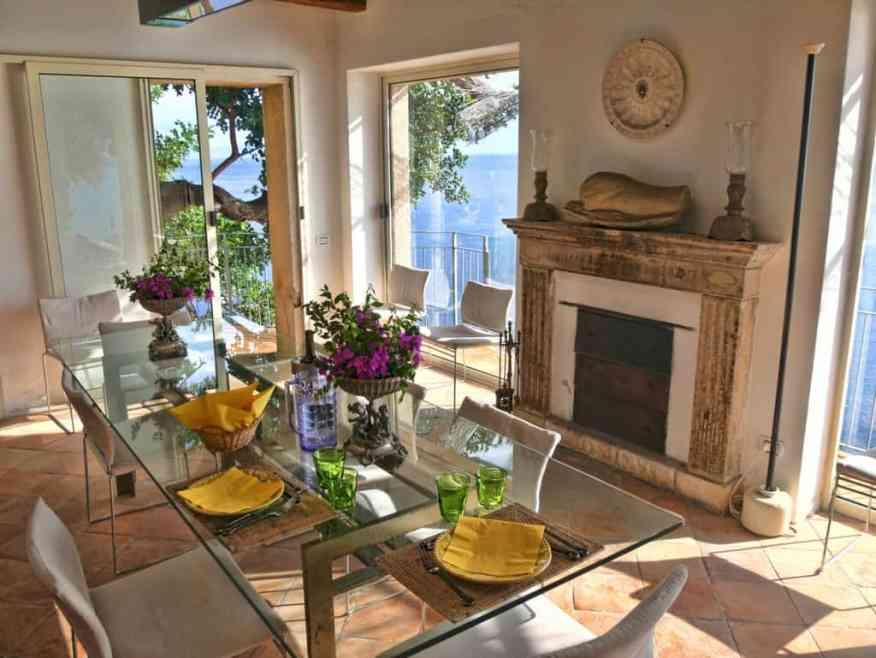 La Torre Private villa dining