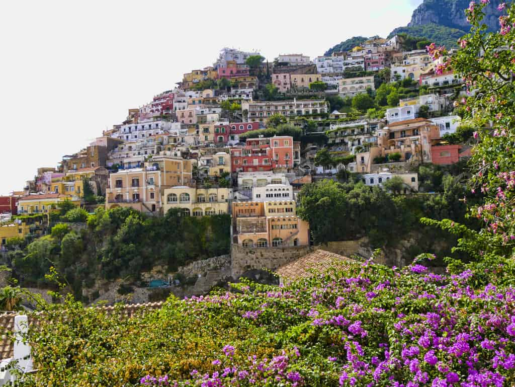 Positano view luxury blog
