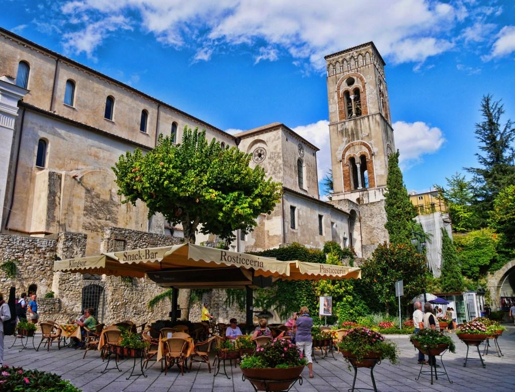 Ravello church tower Italy
