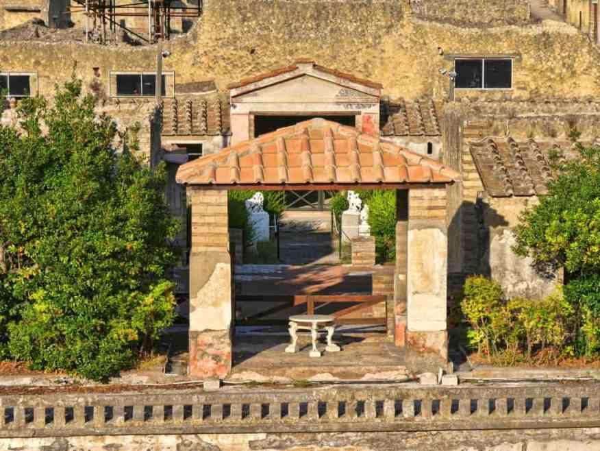 Herculaneum Roman villa