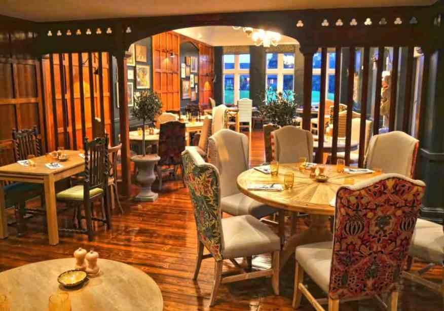 Burley Manor dining room