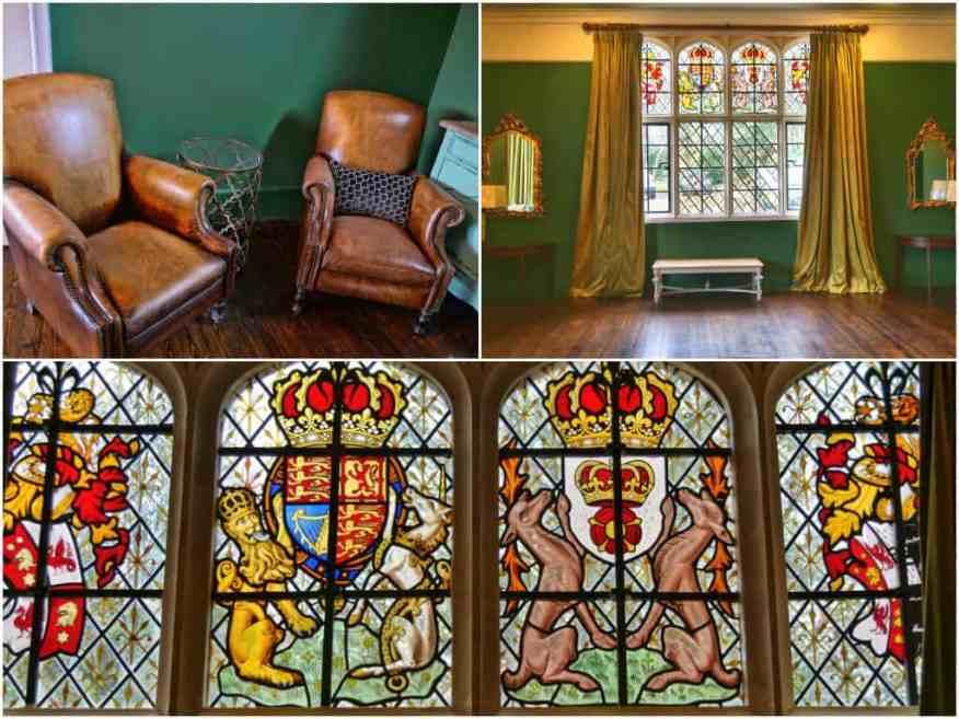 Burley Manor residents' lounge