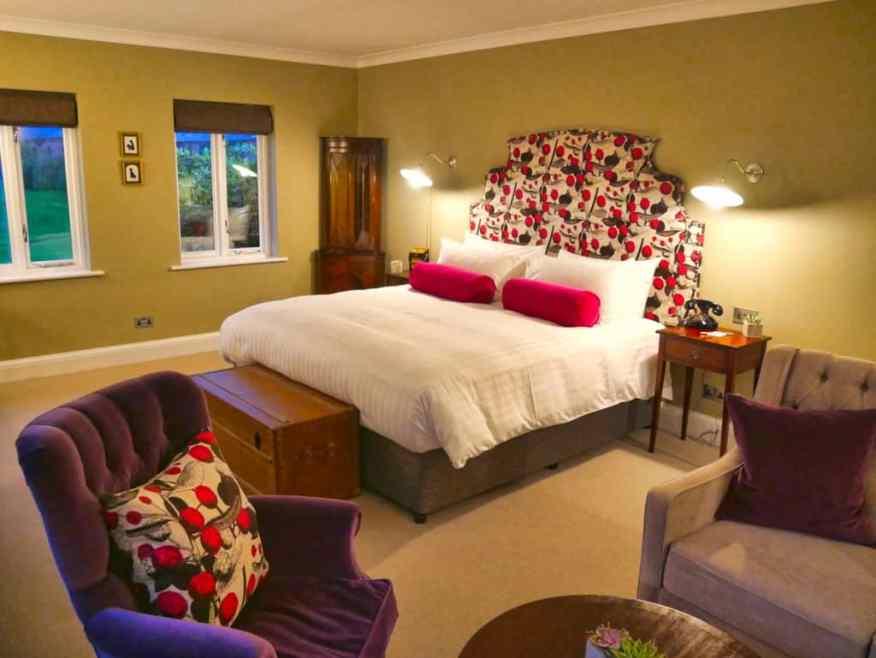 Burley Manor suite