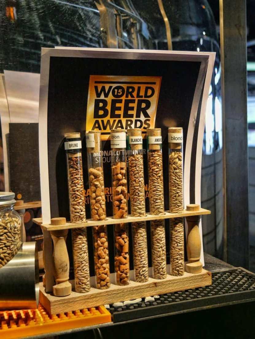 Brasserie de Monaco awards