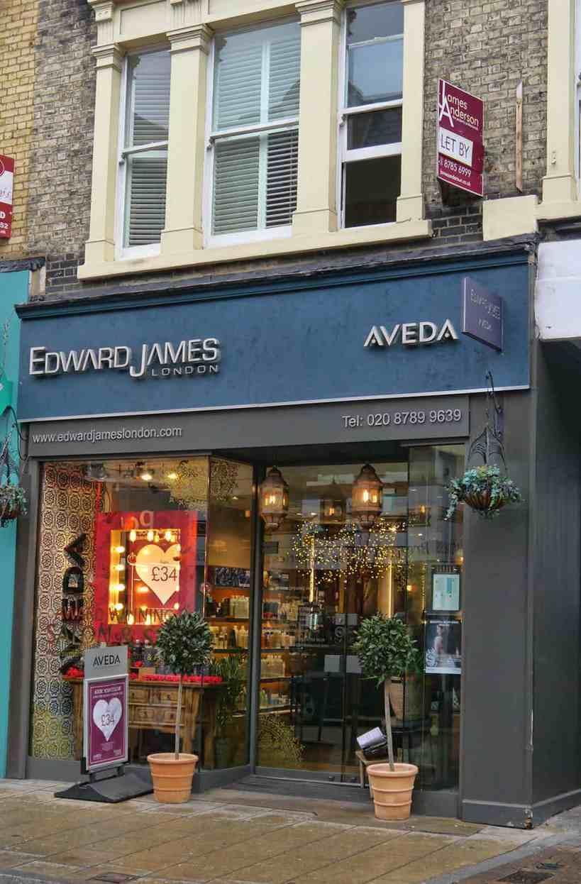 Edward James Putney salon