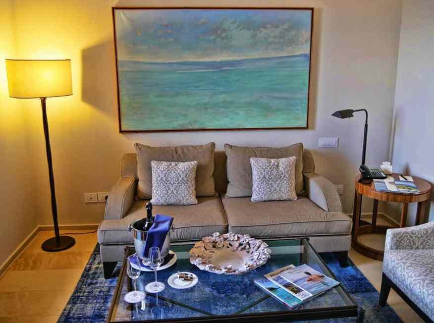 Monastero Santa Rosa living room