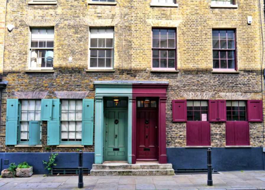 Spitalfields doors