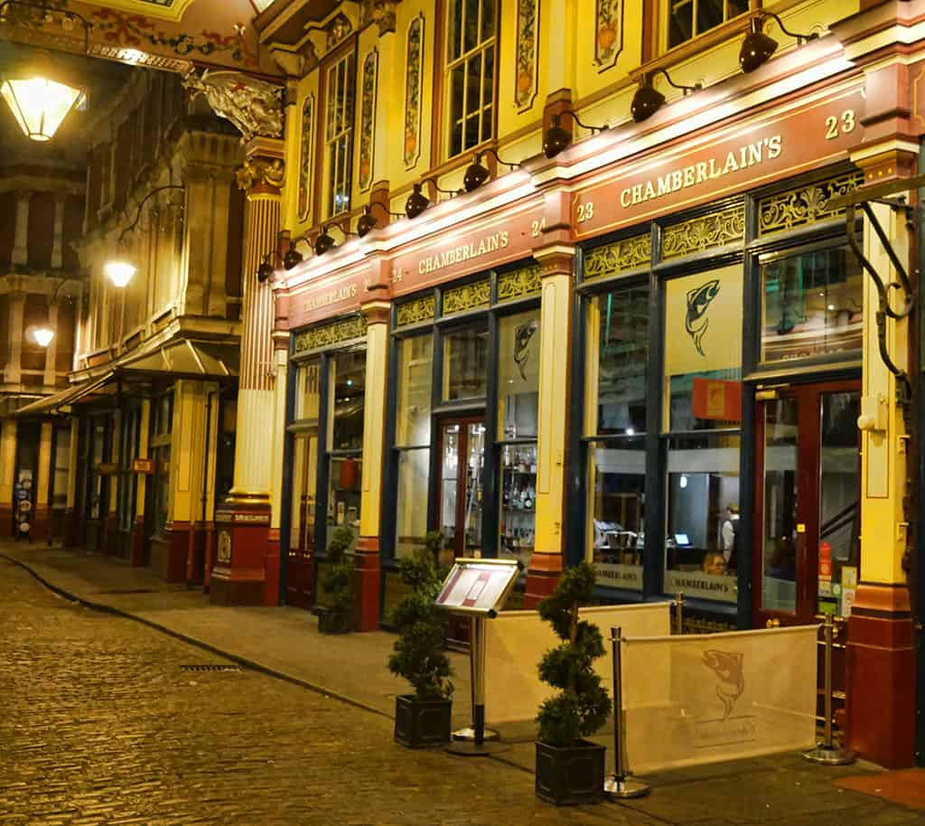 Chamberlain's Leadenhall Market – The Best Fish and Seafood in the City