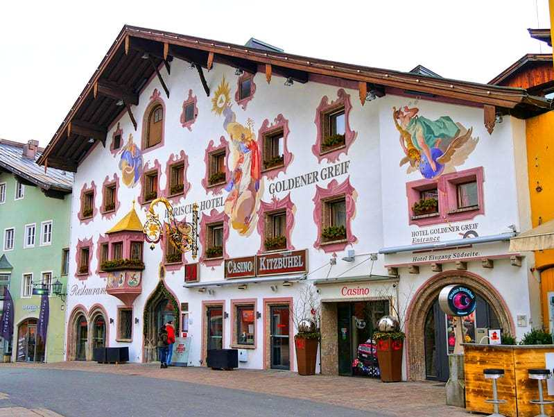 The casino in Kitzbuehel, Austria