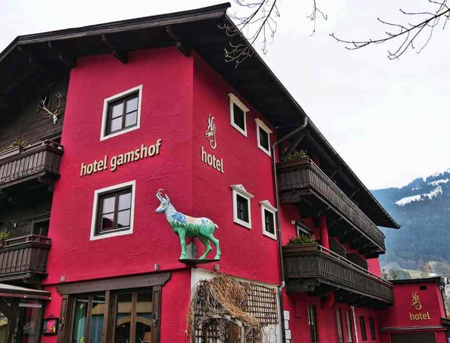 Hotel Gamshof, Kitzbuehel, Austria