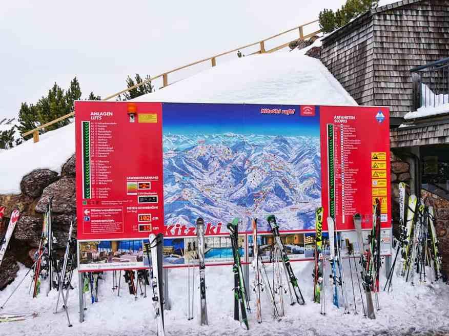 Kitzbuehel Austria ski domain