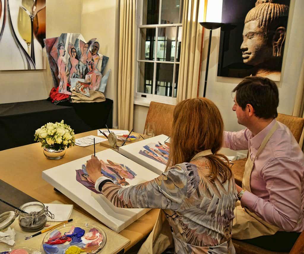 london-private-art-class
