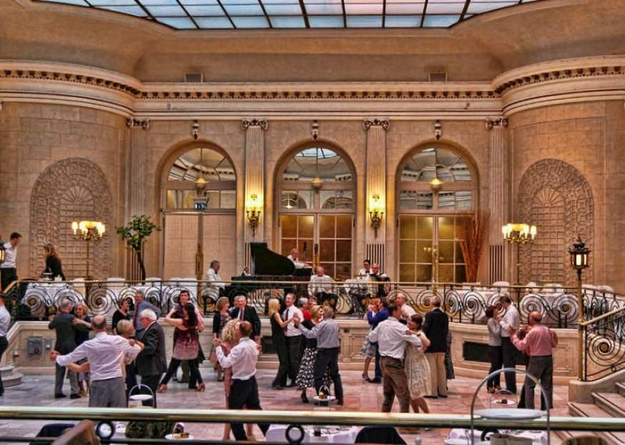 Waldorf Hilton tea dance