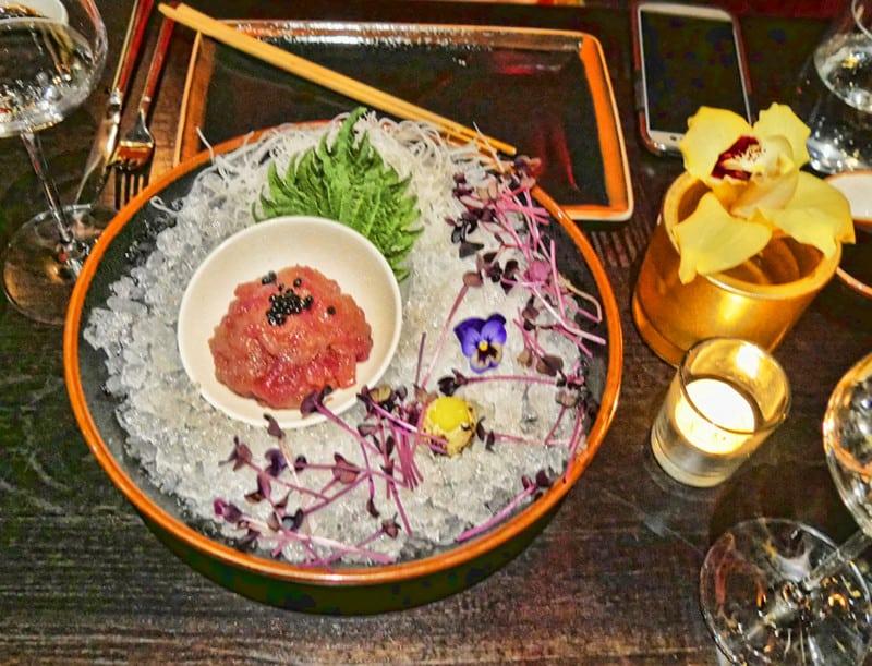 Buddha-Bar London sushi