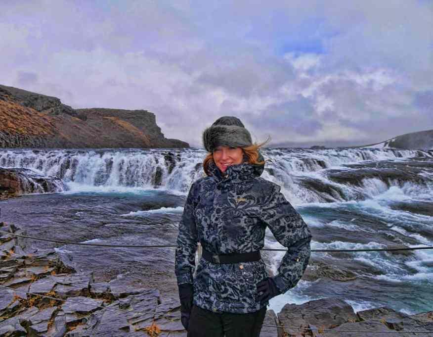 Waterfall-Iceland
