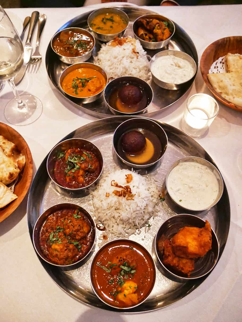 Review of Thali Restaurant – Fine North Indian Cuisine