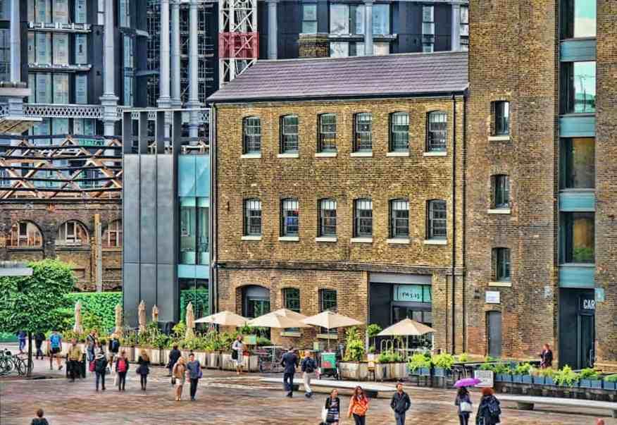 best London al fresco dining - Grain Store