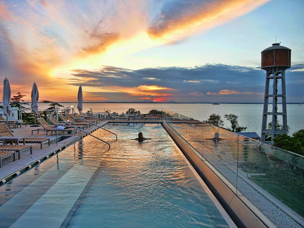 On Top of the World at the JW Marriott Venice Resort  Spa