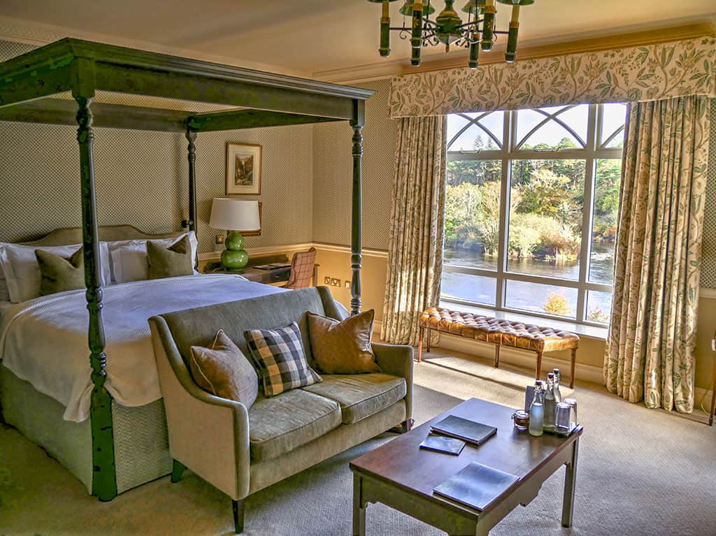 Ballynahinch Castle Riverside suite