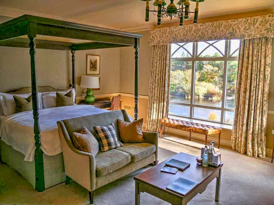 Ballynahinch Castle Riverside suite