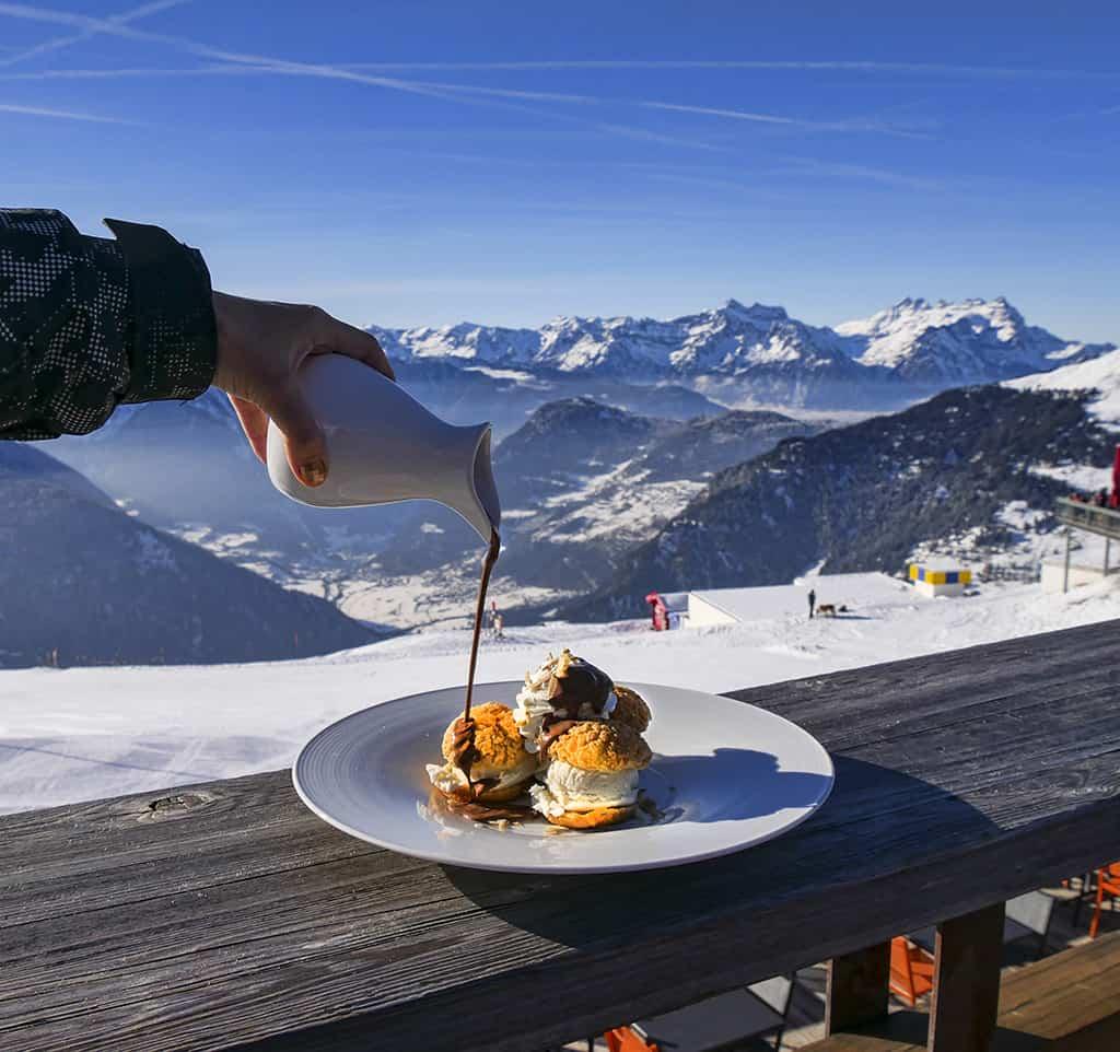 Mouton Noir Verbier restaurant - Luxury Columnist - food, travel and style blog