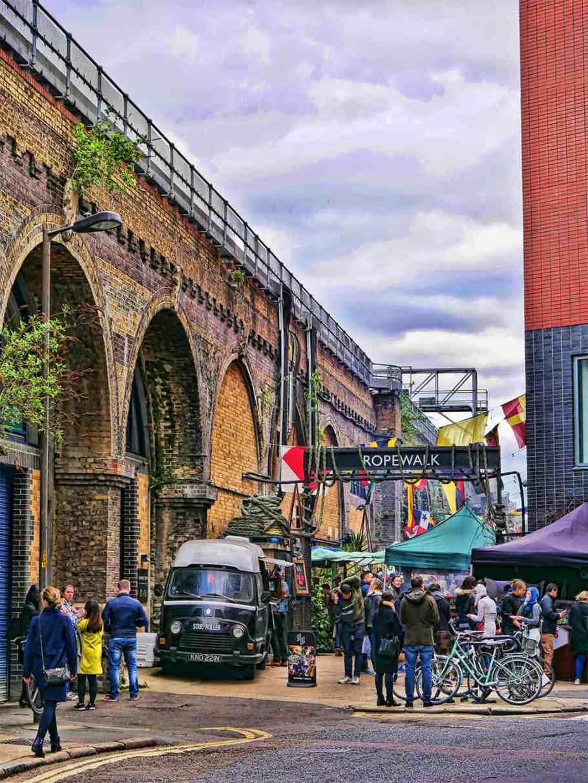 Maltby Street Market London
