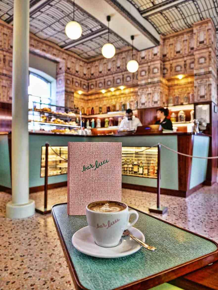 Bar Luce Fondazione Prada