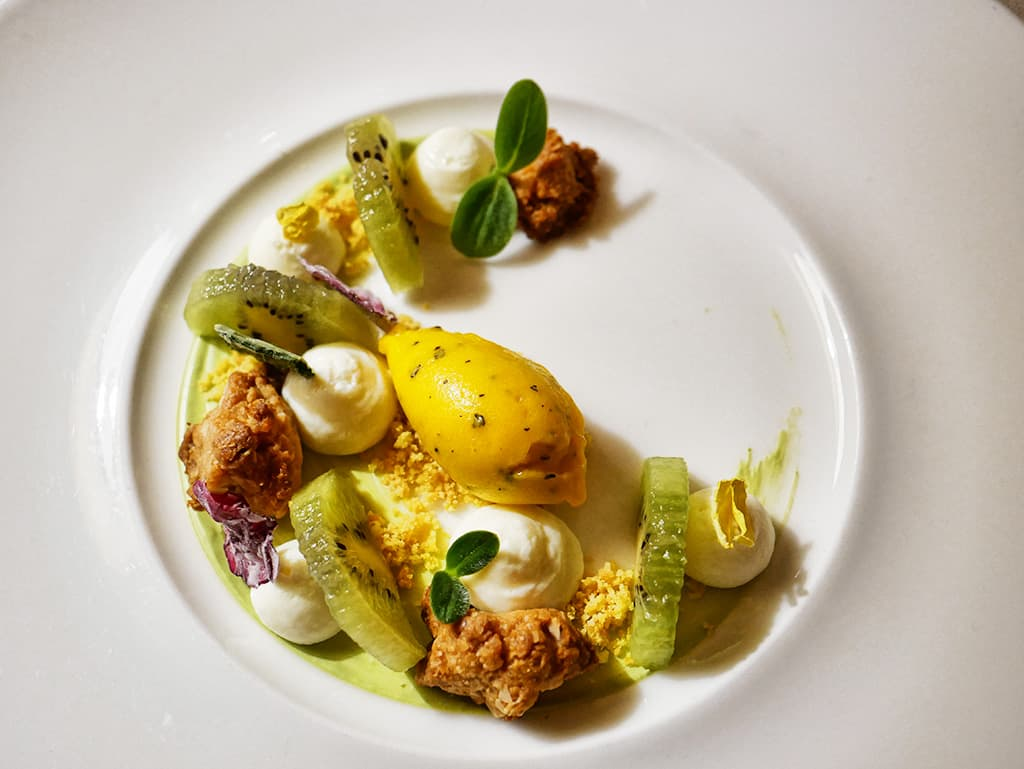 Le Relais Villa Castagnola tasting menu