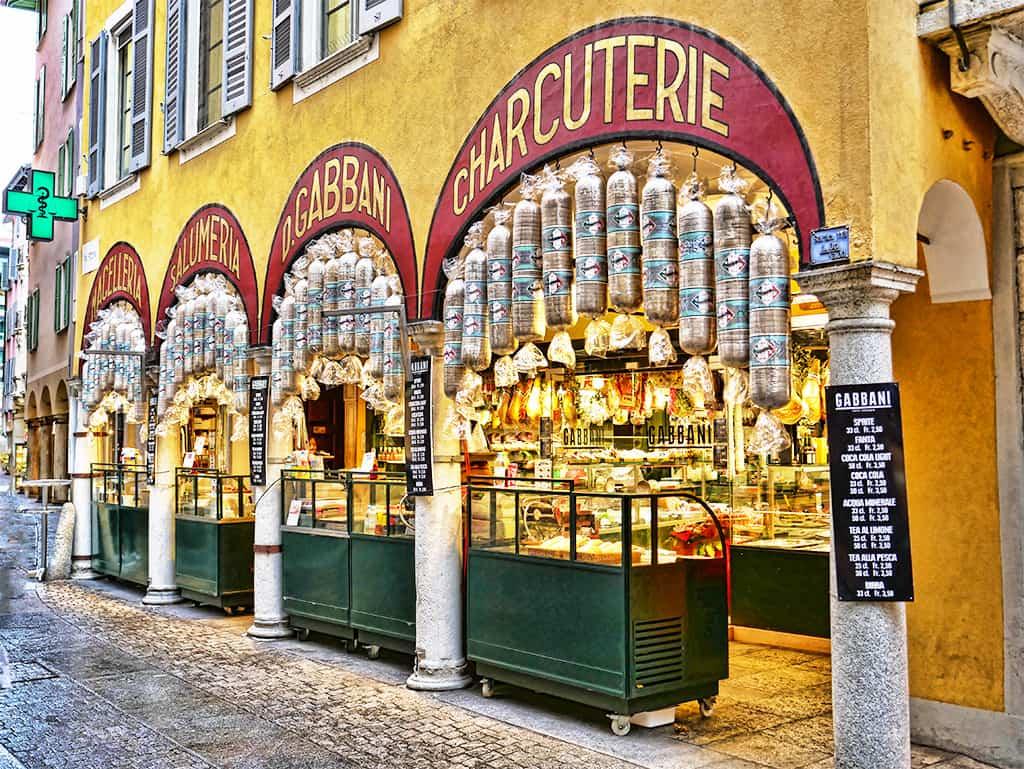 Lugano shops