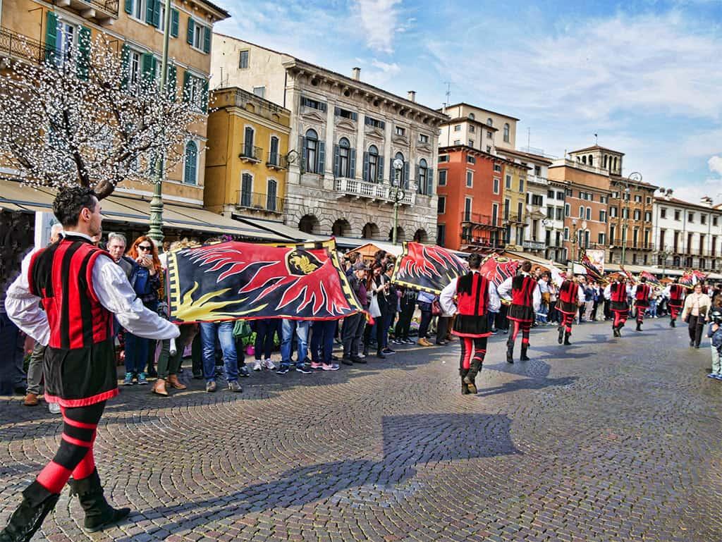 A Verona procession