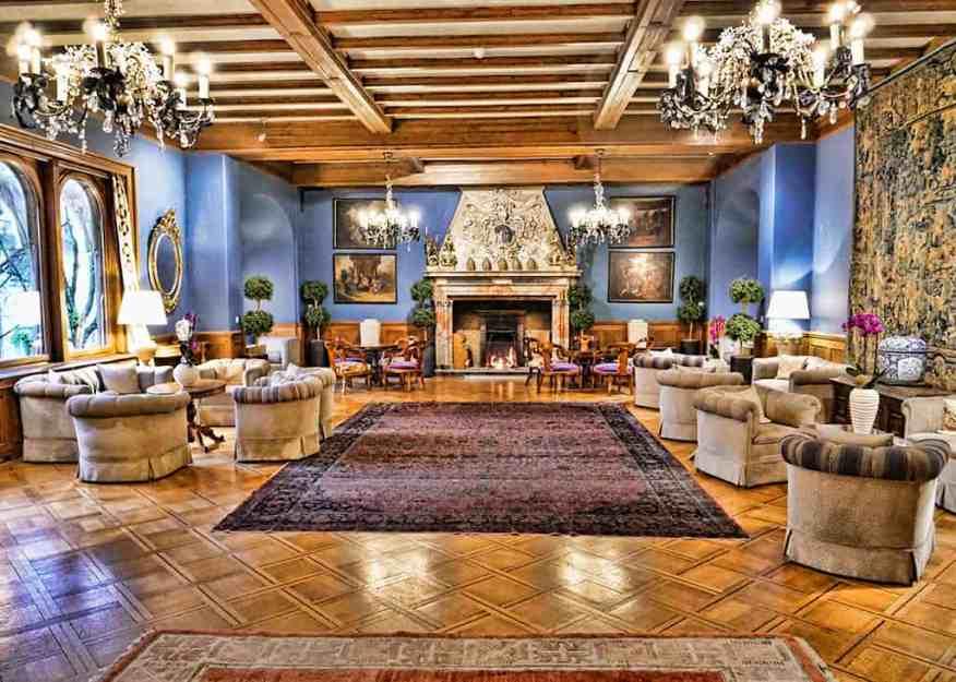 Villa Castagnola lounge