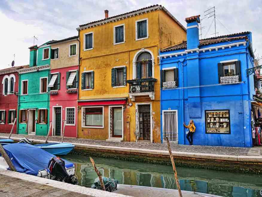 Burano is one of the most charming islands near Venice