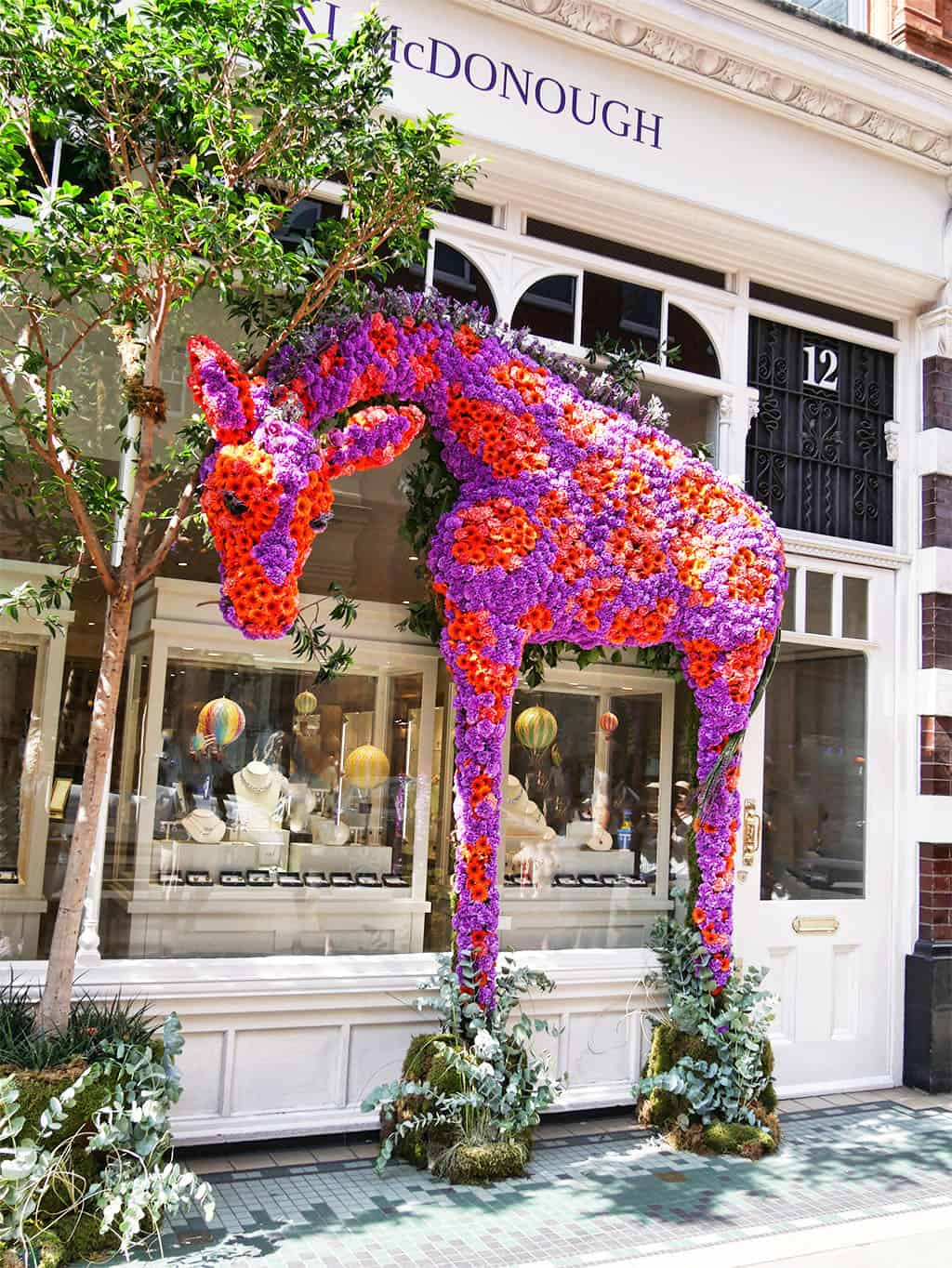 London in Bloom – Chelsea Flower Show & A Floral Afternoon Tea