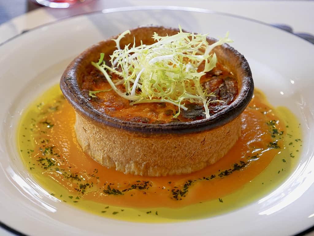 Food at Margot, London