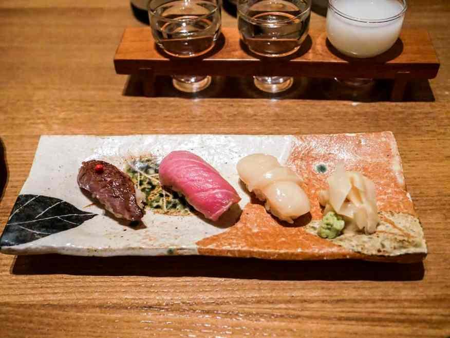 Tokimeite sushi