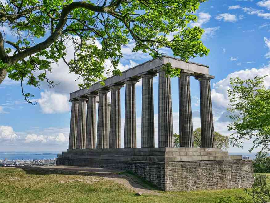 City Observatory, Calton Hill, Edinburgh, Scotland