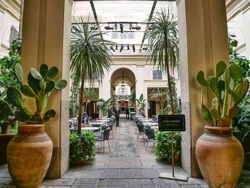 Dolce & Gabanna Bar Martini in Milan, Italy