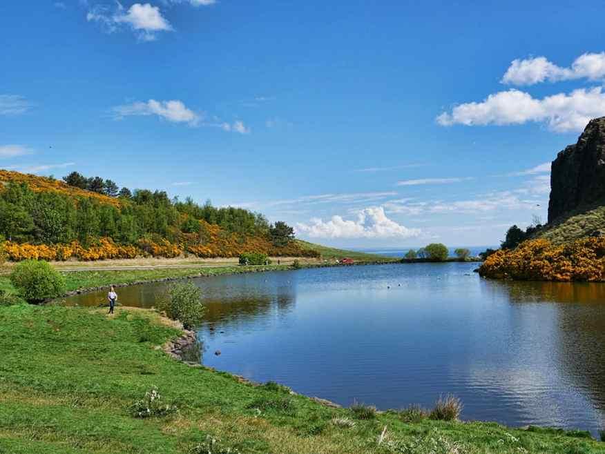 Dunsapie Loch, Edinburgh, Scotland