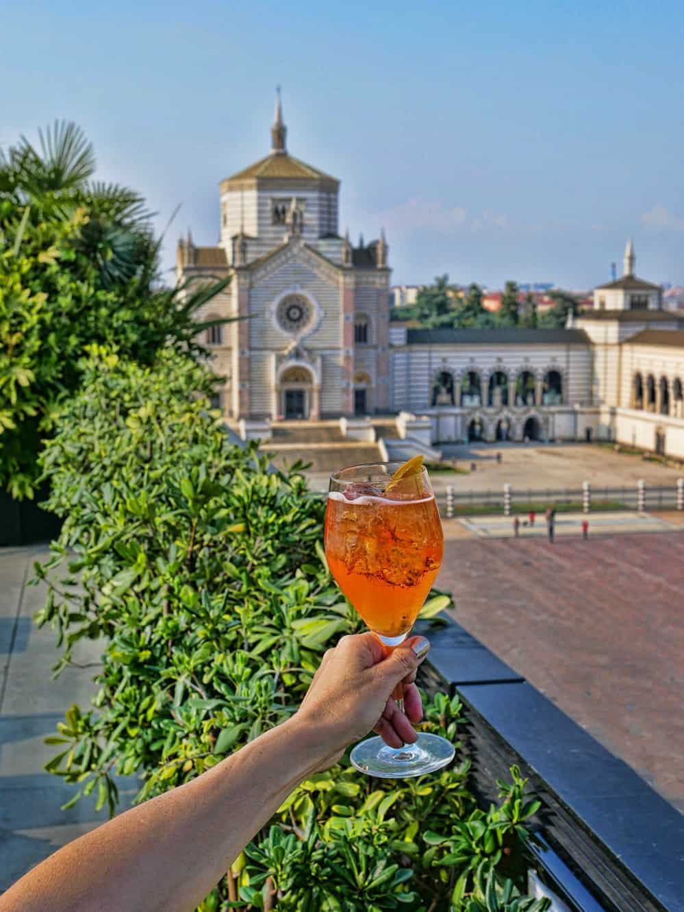 The 9 best rooftop bars outdoor dining in milan al fresco for Best clubs in milan
