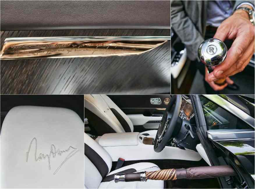 Rolls-Royce designed by Ray Davies